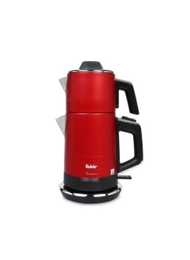 Fakir Fakir Temper Çay Makinesi Kırmızı Renkli